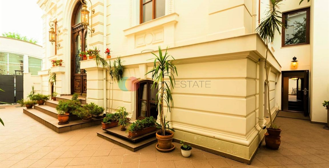 480 sqm neoclassical french villa for rent, Bucharest main picture