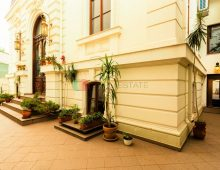 480 sqm neoclassical french villa for rent, Bucharest