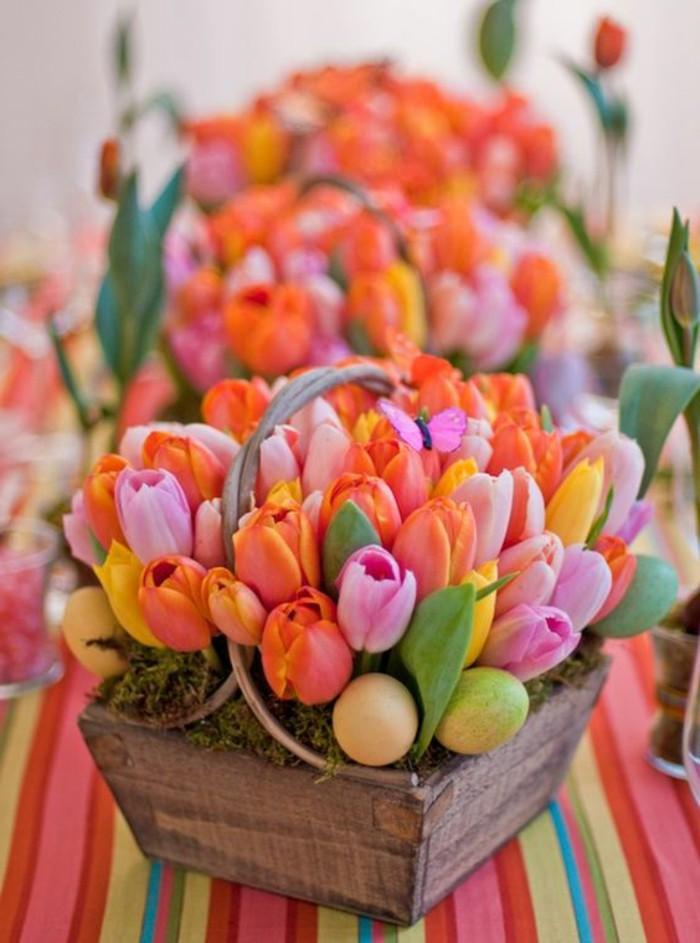 aranjament flori pasti